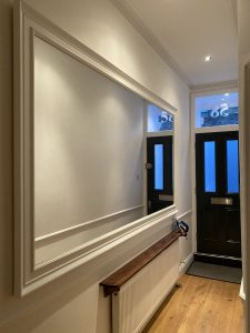 Effective Use of Wall Mirrors in a Hallway