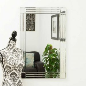 Ashwater Triple Glass Mirror 90x60cm