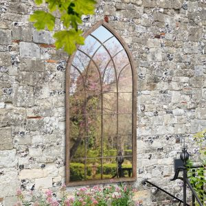 Begonia Window Garden Mirror 169x75cm