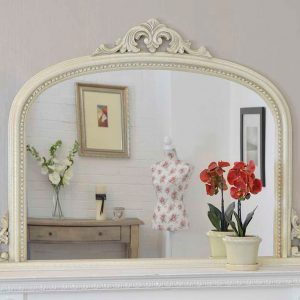 Bishop Ivory Over Mantle Mirror 127x91cm