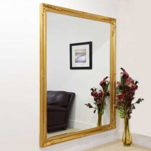 Buckland Extra Large Gold Mirror 200x140cm