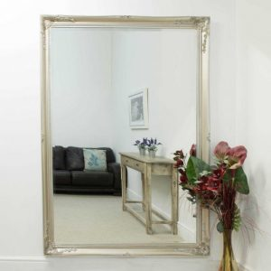 Buckland Large Silver Mirror 170x109cm