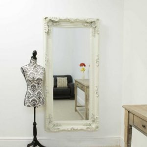 Charlton Cream Full Length Mirror 175x90cm