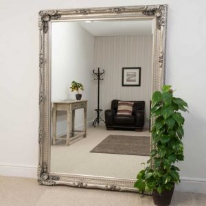Charlton Extra Large Silver Mirror 215x154cm