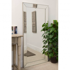 Chelsea Raised Edge Venetian Mirror 165x78cm