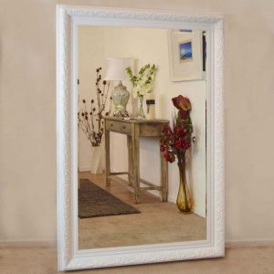 Devonshire Large White Mirror 177x117cm
