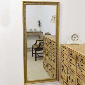 Hampton Gold Full Length Mirror 160x73cm