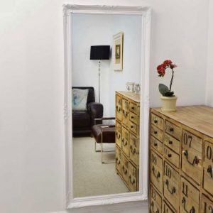 Kingston Full Length White Mirror 168x76cm