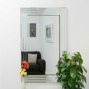 Lapford Triple Glass Mirror 120x80cm
