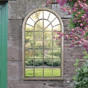 Maiden Window Garden Mirror 129x76cm