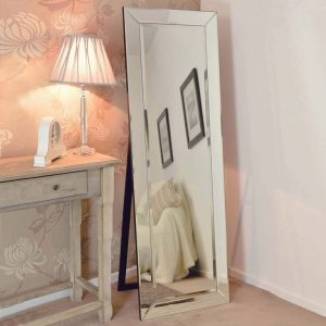 Newton Free Standing Glass Mirror 150x40cm