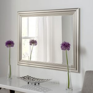 Padstow Silver Rectangular Mirror (7 Sizes)