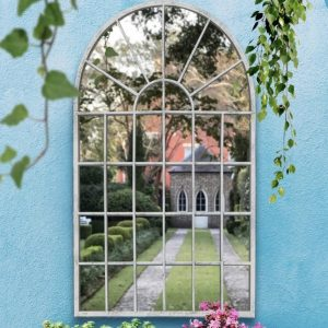 Primrose Window Garden Mirror 79x51cm