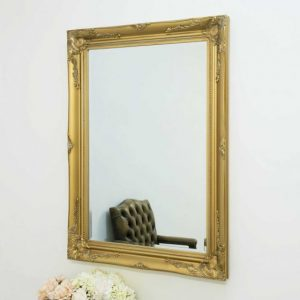 Buckland Gold Framed Mirror 110x79cm