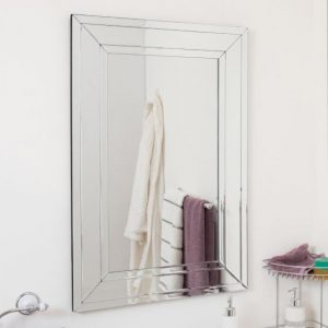 Silverton Triple Glass Mirror 100x70cm