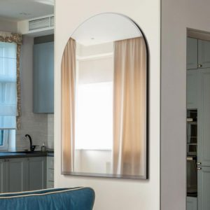 Archway Curved Bevelled Glass Mirror 120x80cm