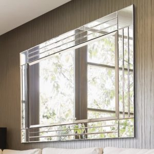 Ashwater Triple Glass Mirror 116x144cm