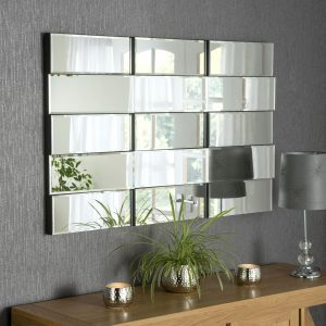 Banco Brick Art Deco Mirror 122x77cm