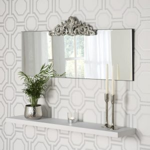 Barcelona Over Mantle Mirror 51x120cm