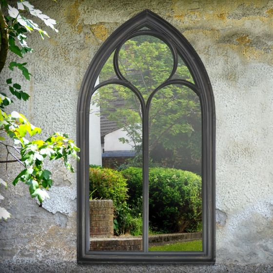 Blackberry Window Garden Mirror 112x61cm