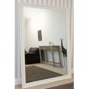Buckland Extra Large White Mirror 200x140cm