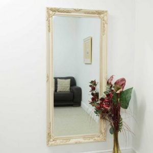 Buckland Full Length Ivory Mirror 170x79cm