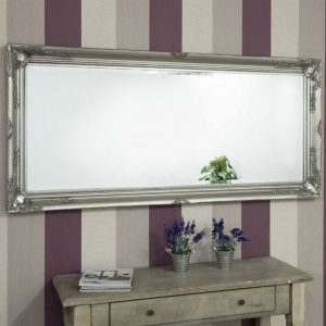 Buckland Full Length Silver Mirror 170x79cm