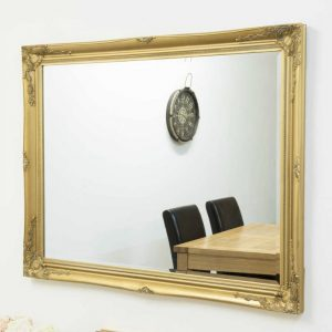 Buckland Large Gold Mirror 140x109cm