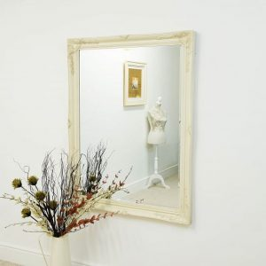 Buckland Large Ivory Mirror 140x109cm