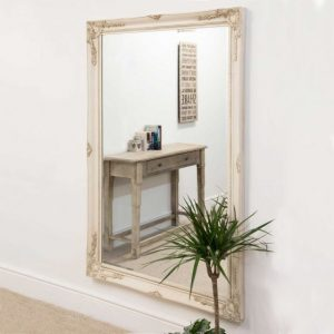 Buckland Large Ivory Mirror 170x109cm