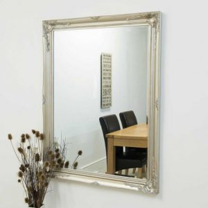 Buckland Large Silver Mirror 140x109cm
