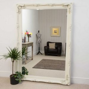 Charlton Extra Large Cream Mirror 215x154cm