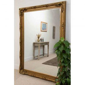 Charlton Extra Large Gold Mirror 215x154cm