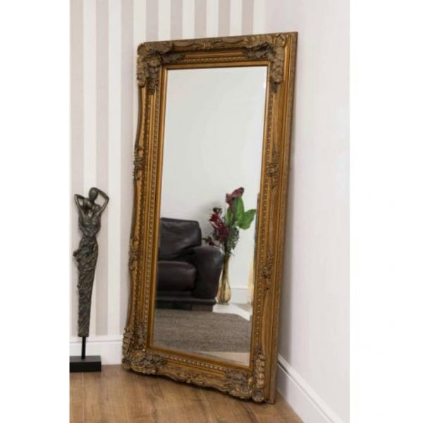 Charlton Gold Full Length Mirror 175x90cm