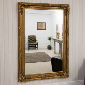 Charlton Large Gold Mirror 185x123cm