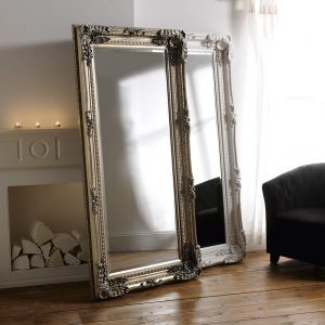 Charlton Silver Full Length Mirror 175x90cm