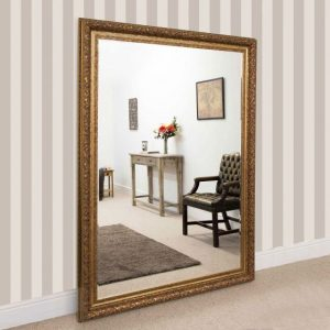 Devonshire Extra Large Gold Mirror 215x154cm