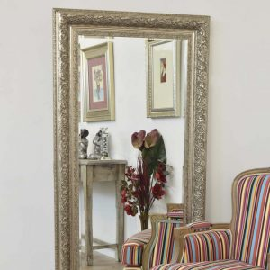 Devonshire Silver Full Length Mirror 177x86cm