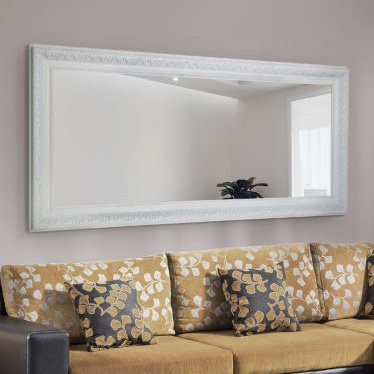 Devonshire White Full Length Mirror 177x86cm