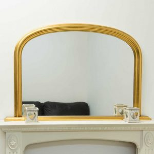 Dolton Gold Over Mantle Mirror 120x79cm