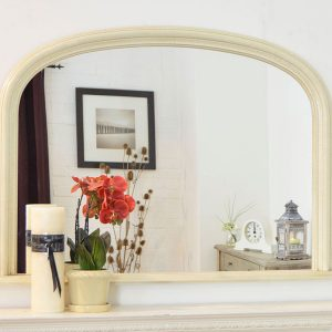 Dolton Ivory Over Mantle Mirror 120x79cm