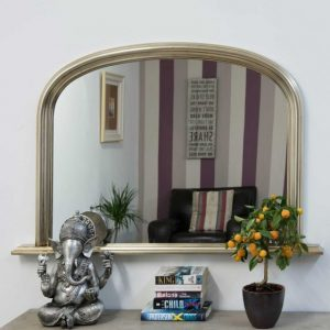 Dolton Silver Over Mantle Mirror 120x79cm