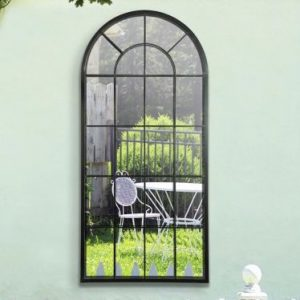 Emerald Window Garden Mirror 140x65cm