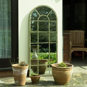 Evergreen Window Garden Mirror 159x66cm