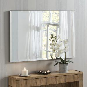 Florence Frameless Wall Mirror 86x58cm