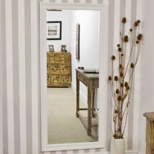 Hampton White Full Length Mirror 160x73cm