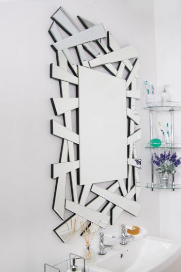 Hendon Glass Mirror 120x80cm