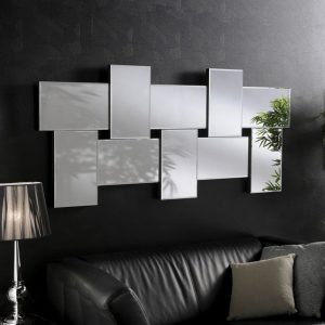 Hollywood Block Art Deco Mirror 77x171cm