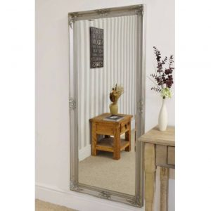 Kingston Full Length Silver Mirror 168x76cm
