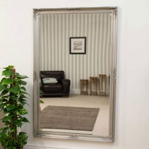 Kingston Large Silver Mirror 168x102cm